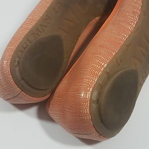 Sam Edelman Shoes - Sam Edelman Cherise Orange  Leather Fabric Flats